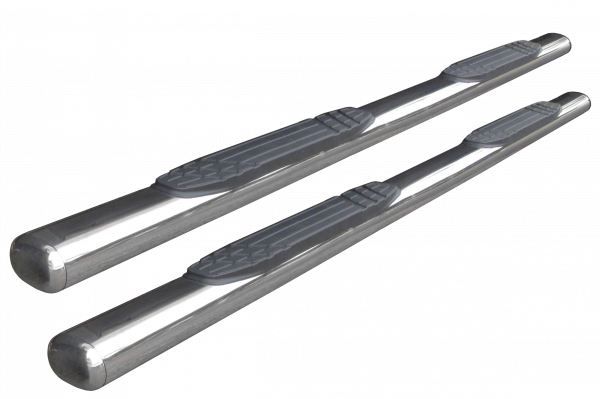 Go Rhino - 1000 Series 4 Oval Side Steps, Polished Stainless, 87 long,  - 104449987PS