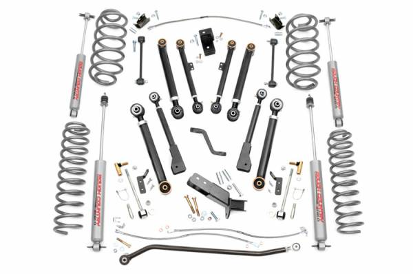 Rough Country - 6-inch X-Series Suspension Lift System - 66220