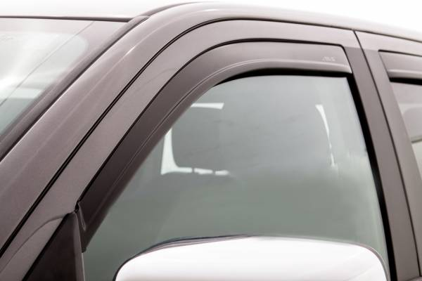 Auto Ventshade (AVS) - LOW PROFILE MATTE BLACK 4 PC - 1774004
