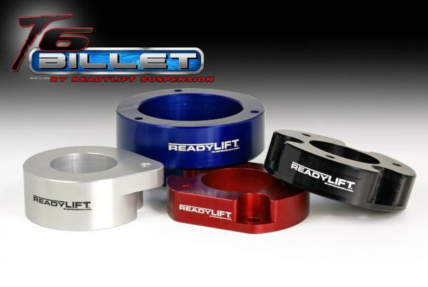 ReadyLift - ReadyLIft 2'' T6 Billet & Tubular A-Arms Leveling Kit T6-1036-K