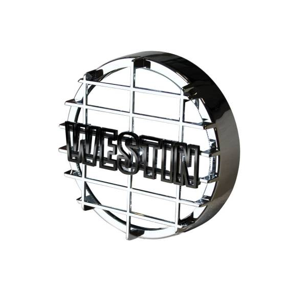 Westin - 6 in Quartz-Halogen Off-Road Light Cover (Chrome Grid Only) - 09-0500C