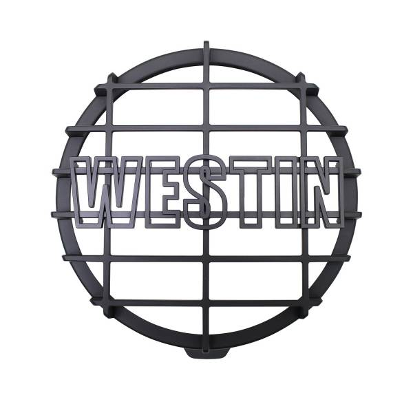 Westin - 6 in Quartz-Halogen Off-Road Light Cover (Black Grid Only) - 09-0505C