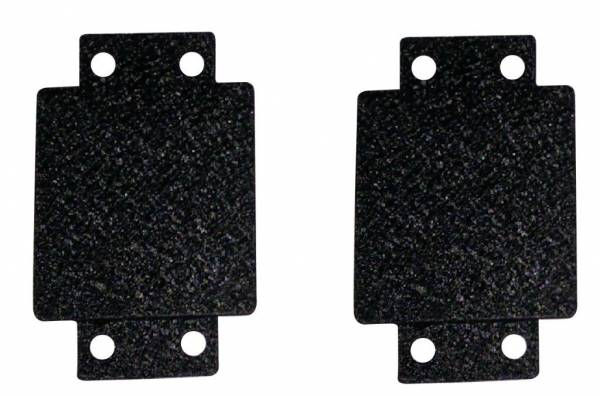 TrailFX - Cover Holes In Jeep Bumper When Not nstalling Lights Text Black Steel - J038T
