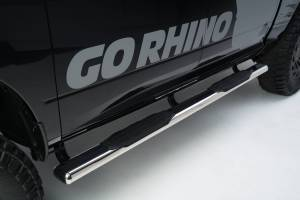Go Rhino - 1000 Series 5 Oval Side Steps, 73 long - 105450673PS