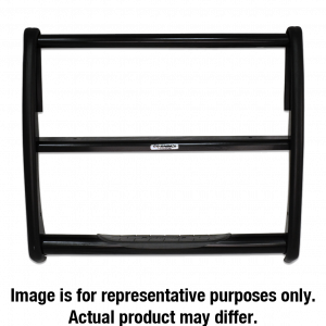 Grille Guards & Bull Bars - Grille Guards - Go Rhino - 3000 Series StepGuard (Center Grille Guard Only) - 3324B