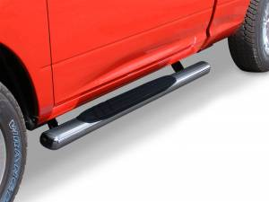 Run Board Nerf Bar - Nerf Bars - Go Rhino - 4 OE Xtreme SideSteps - 52 Long - Polished Stainless Steel - Bars Only - 640052PS