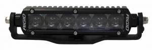 Light Bars - Light Bar Mounting Kits - Go Rhino - Jeep Wrangler Center Hood Mount for dual six inch single row LED bar  - 732060T