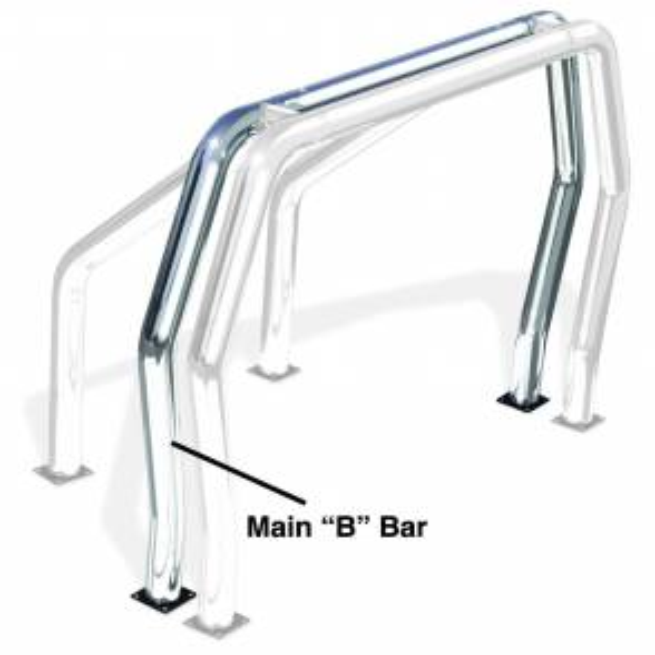 Truck Bed Accessories - Ladder/Headache Racks - Go Rhino - Go Rhino! Bed Bars - B Main Bar - 92002C