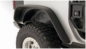 Bushwacker - FF Jeep Flat Style 2Pc Rear - 10052-07
