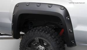 Exterior - Fenders & Flares - Bushwacker - FF Boss Pocket Style 2Pc Rear - 40118-02