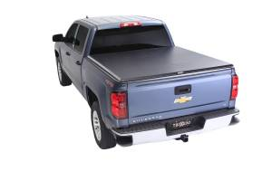 Truck Bed Accessories - Tonneau Covers - Truxedo - TruXport - 14-18 (19 Leg/Lim) Silv/Sierra 5'9 - 271801