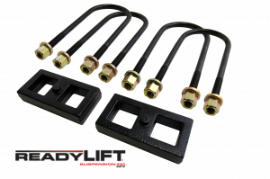 Suspension - Leaf Springs & Accessories - ReadyLift - 2002-08 DODGE-RAM 1500 1'' Rear Block Kit - 66-1101