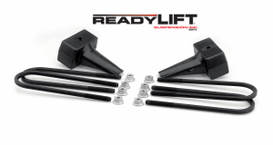 Suspension - Leveling Kits - ReadyLift - 1999-10 FORD F250/F350/F450 4'' Rear Block Kit - 66-2094
