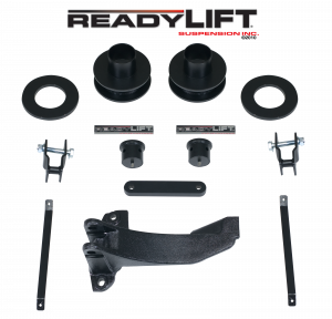 ReadyLift - 2005-07 FORD F250/F350/F450 2.5'' Front Leveling Kit with Track Bar Bracket - 66-2515