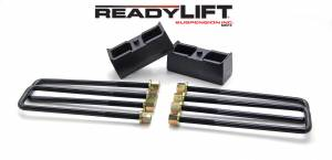 Suspension - Leveling Kits - ReadyLift - 1999-18 CHEV/GMC 1500 2.25'' Rear Block Kit - 66-3002