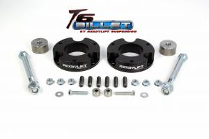 ReadyLift - 2005-16 TOYOTA TACOMA 2.25'' Leveling Kit T6 Billet Black - T6-5055-K