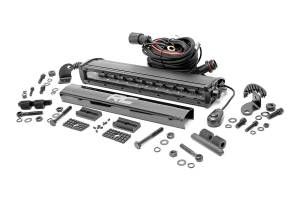Rough Country - 12-inch Black Series Single Row CREE LED Light Bar - 70712BL