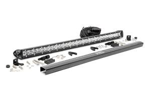 Rough Country - 30-inch Chrome Series Single Row CREE LED Light Bar - 70730