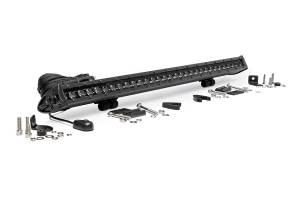 Rough Country - 30-inch Black Series Single Row CREE LED Light Bar - 70730BL