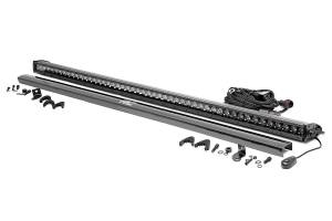 Rough Country - 50-inch Black Series Single Row Straight CREE LED Light Bar - 70750BL