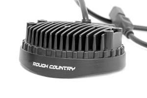 Rough Country - 4-inch LED Round Lights (Pair) - 70804