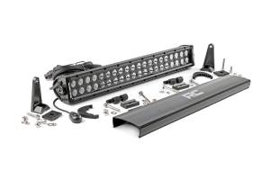 Rough Country - 20-inch Black Series Dual Row CREE LED Light Bar - 70920BL