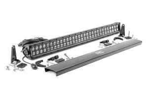 Rough Country - 30-inch Black Series Dual Row CREE LED Light Bar - 70930BL