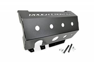 Body Armor & Sliders - Skid Plates - Rough Country - Muffler Skid Plate - 779