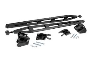 Suspension Components - Accessories & Hardware - Rough Country - Traction Bar Kit (Crew Cab Models) for 6-inch Lifts - 81000