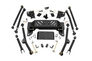 Suspension - Control Arms - Rough Country - X-Flex Long Arm Upgrade Kit for 4-inch Lifts - 90200U