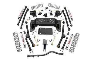 Rough Country - 4-inch X-Series Long Arm Suspension Lift System - 90222