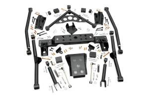 Suspension - Control Arms - Rough Country - X-Flex Long Arm Upgrade Kit for 4-inch Lifts - 90900U