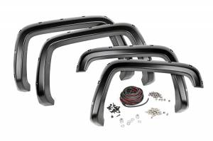 Rough Country - Pocket Fender Flares w/ Rivets - F-C18811