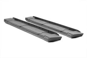 Run Board Nerf Bar - Running Boards - Rough Country - Cab Length HD2 Running Boards (Double Cab Models) - SRB051785