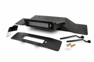 Winch & Recovery - Winch Mounts - Rough Country - Hidden Winch Mounting Plate - 1010
