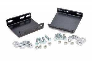 Suspension Components - Accessories & Hardware - Rough Country - Front Sway Bar Drop Brackets for 4-6-inch Lifts - 1018