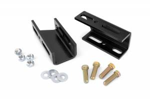 Suspension Components - Accessories & Hardware - Rough Country - Front Sway Bar Drop Brackets for 2-6-inch Lifts - 1019