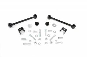 Suspension Components - Accessories & Hardware - Rough Country - Front Sway Bar Links for 4-inch Lifts - 1022