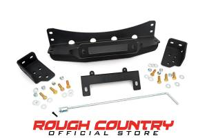 Winch & Recovery - Winch Mounts - Rough Country - Hidden Winch Mounting Plate - 1080