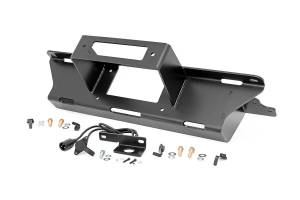 Winch & Recovery - Winch Mounts - Rough Country - GM Hidden Winch Mounting Plate (99-06 1500 PU) - 11002