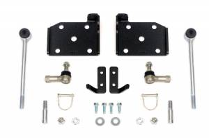 Suspension Components - Accessories & Hardware - Rough Country - Front Sway Bar Quick Disconnects for 4-6-inch Lifts - 1109