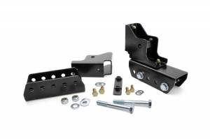 Rough Country - 1-1.5-inch Rear Shackle Relocation Kit - 1117