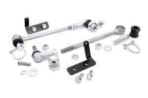 Suspension Components - Accessories & Hardware - Rough Country - Front Sway Bar Quick Disconnects for 4-6.5-inch Lifts - 1128