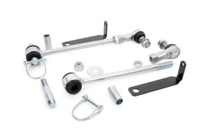 Suspension Components - Accessories & Hardware - Rough Country - Front Sway Bar Quick Disconnects for 3-6-inch Lifts - 1131