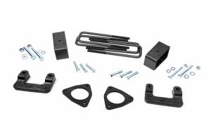 Suspension - Leveling Kits - Rough Country - 2.5-inch Suspension Leveling Lift Kit (Factory Cast Steel Control Arm Models) - 1305