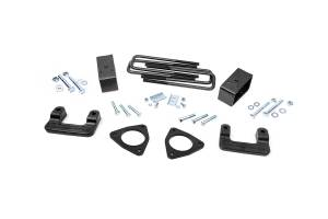 Suspension - Leveling Kits - Rough Country - 2.5in Denali Magneride Susp Leveling Lift Kt (Fac Cast Aluminum Ctrl Arm Models) - 1314