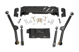 Suspension - Control Arms - Rough Country - X-Flex Long Arm Upgrade Kit for 4-6-inch Lifts - 61600U