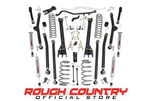 Rough Country - 4-inch X-Series Long Arm Suspension Lift System - 63830