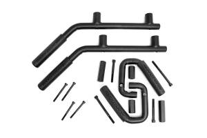 Interior - Grab Handles - Rough Country - Solid Steel Front and Rear Grab Handles (Set of 4) - 6503
