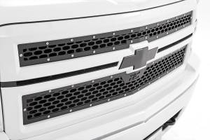 Exterior - Grilles - Rough Country - Chevy Mesh Grille (14-15 Silverado 1500) - 70101